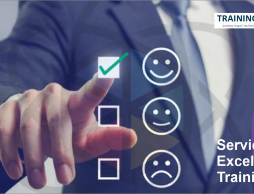 What are the benefits of service excellence training?